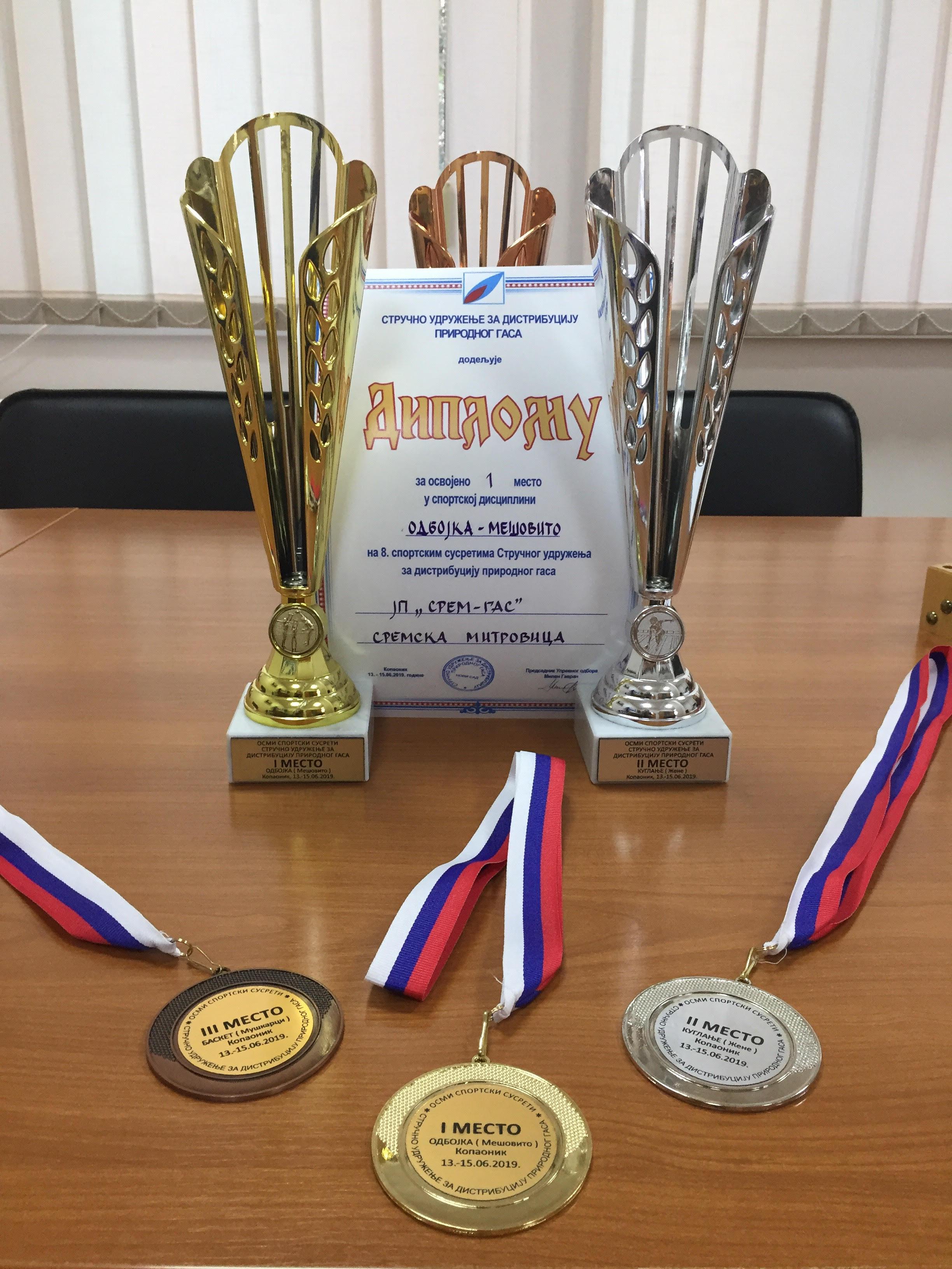 RSI 2019: I zlato i srebro i bronza